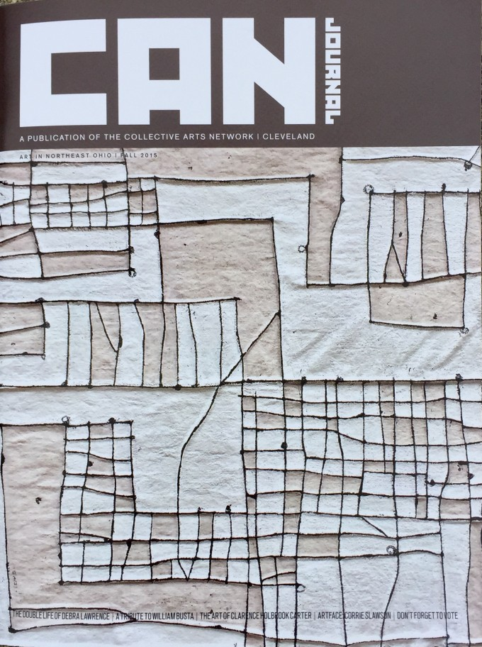 Work on Cover and Featured in CAN Journal, Fall 2015