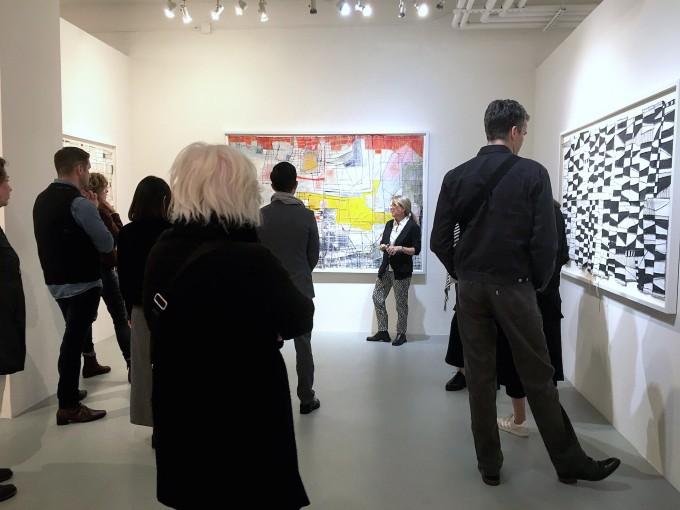 Uneven Edges, solo exhibition, Cheryl Hazan Gallery