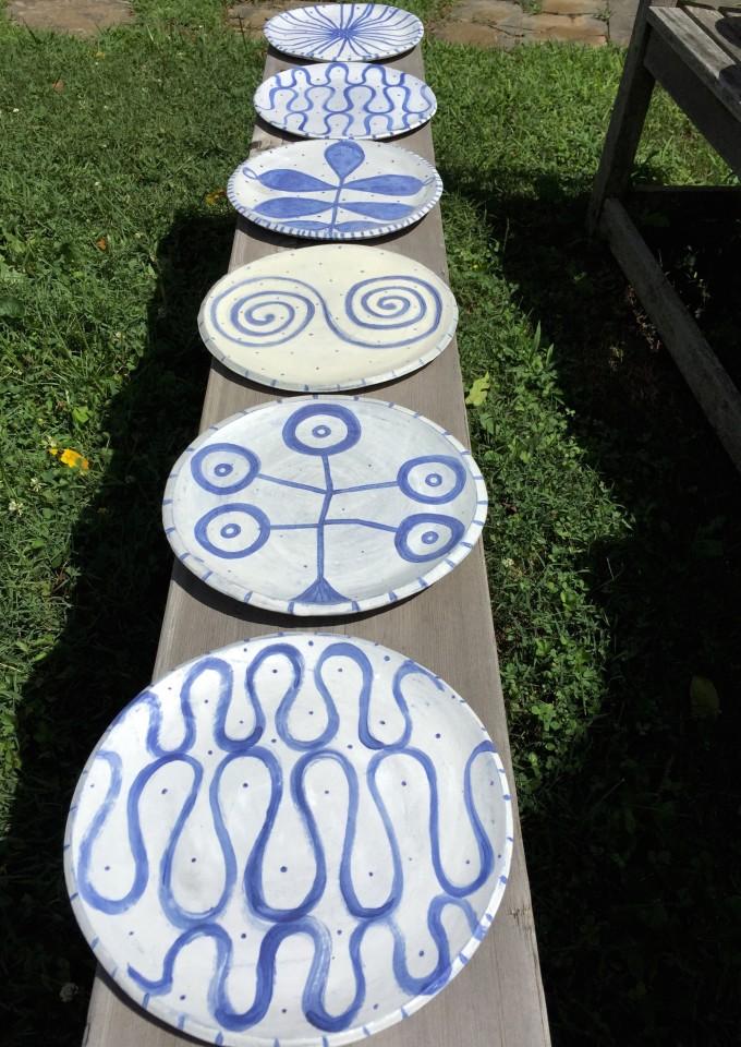 Know Her series, Ceramic Plates