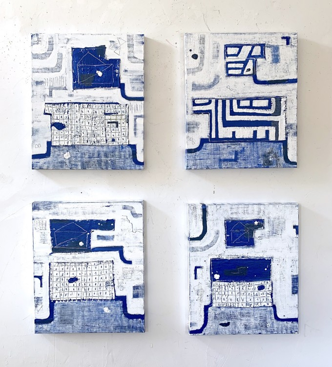 Work Together, Blue, No. 4, 5, 6, 7