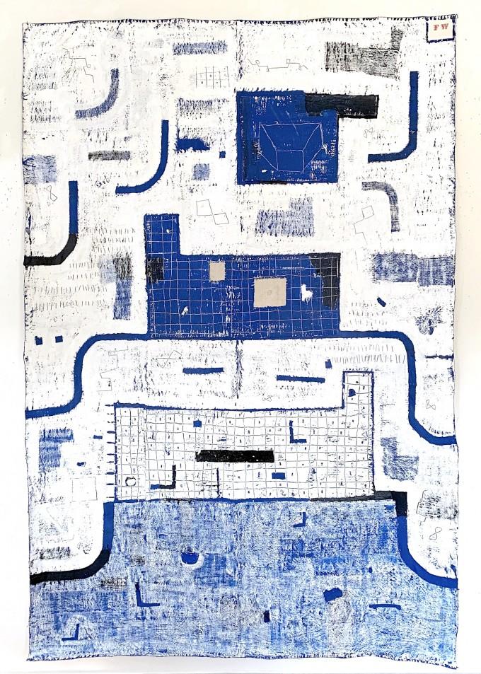 Work Together, Blue, No. 8